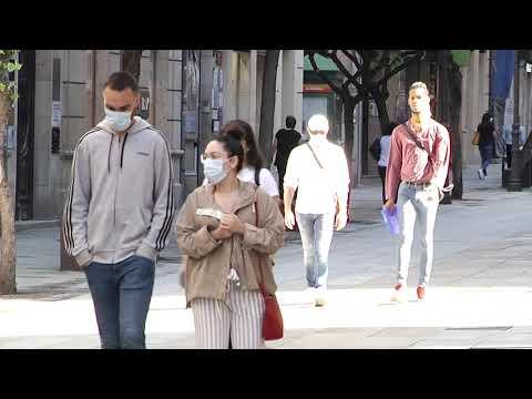 Coronavirus en Ourense 23/10/2020