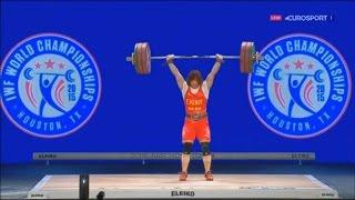 2015 World Weightlifting Championships. women 69kg \ Чемпионат мира женщины до 69кг