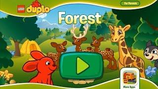 Лего Дупло Лесной заповедник  Лучшая детская игра мультик на андройд