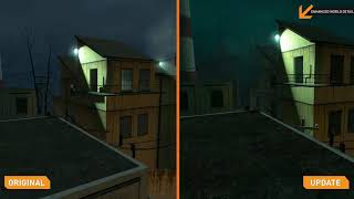Half - Life 2 update Comparison Trailer