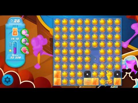 Candy Crush Soda Saga Level 1174 ★★★ Coloring Candy Fun ...