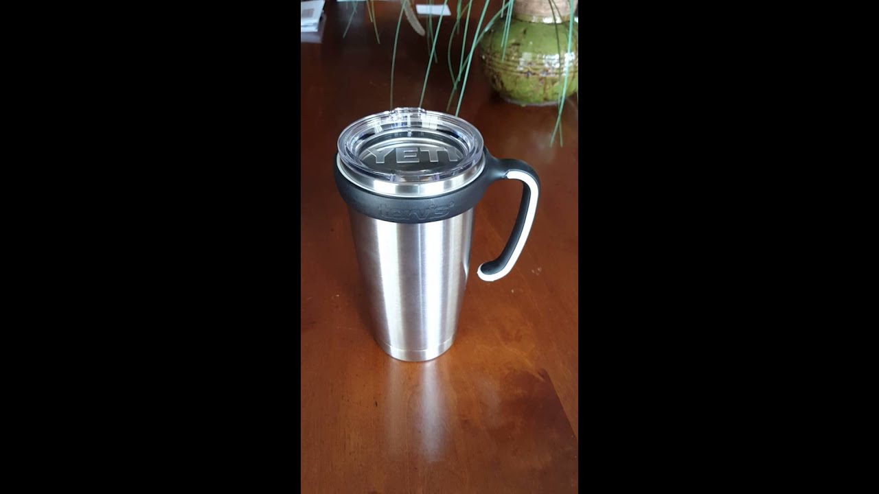 2550da75a32 Put a Tervis handle on your 20oz Yeti cup! - YouTube
