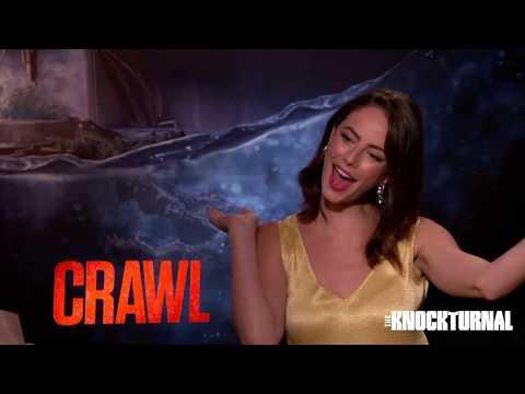 Kaya Scodelario & Alexandre Aja Talk New Movie 'Crawl'