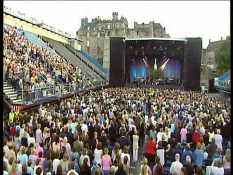 DONNY OSMOND   LIVE AT EDINBURGH CASTLE.