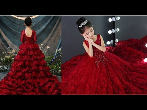 ec53fce52d Girl party wedding Gowns / children. baby, kids , flower Girl Dress  collection