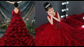 Girl party wedding  Gowns / children. baby, kids , flower Girl Dress collection