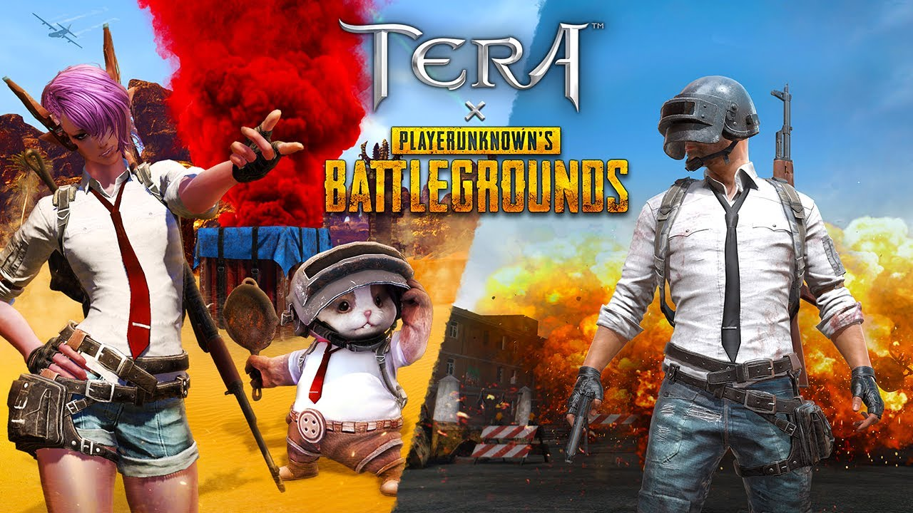 TERA X PUBG - Official Collaboration Launch Trailer