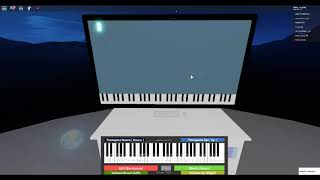 Ode to Joy on a Roblox piano