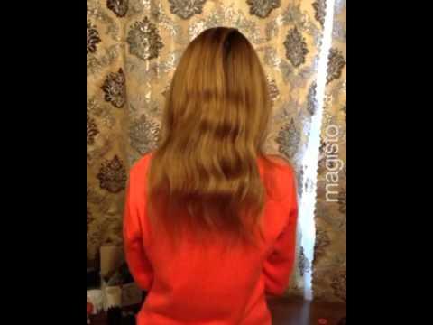 Наращивание волос. Коррекция. 120 прядей. Мастер: Папина Анна.