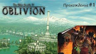 TES Oblivion  #1 прохождение