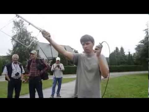 SO-50 satellite QSO with Baofeng UV-3R and home made antenna