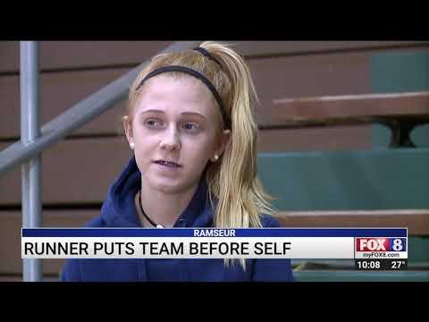 Eastern Randolph High School runner puts team before herself