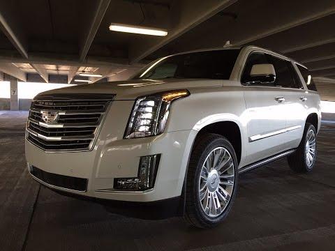 2015 Cadillac Escalade Platinum - TestDriveNow.com Review with Steve Hammes | TestDriveNow
