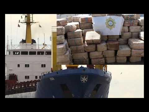 СРОЧНО!!! В Африке задержали российских моряков с 9,5 тоннами кокаина.