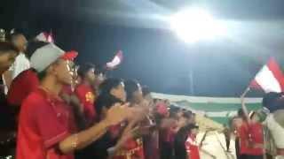 Aksi Paserbumi - Persiba Bantul vs Perserang Banten di Piala Kemerdekaan Indonesia 2015
