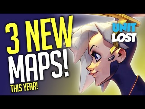 Overwatch News - 3 NEW MAPS (This Year!)