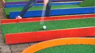 Мини-гольф в Днепропетровске.