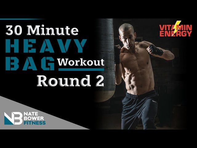 30 Minute Heavy Bag Workout Round 2