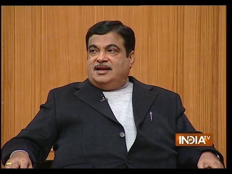 Union Transport Minister Nitin Gadkari in Aap Ki Adalat (Full Episode)