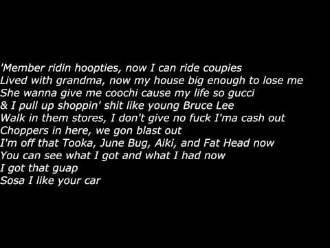 Chief Keef - Young Black Bruce Lee (Official Screen Lyrics)