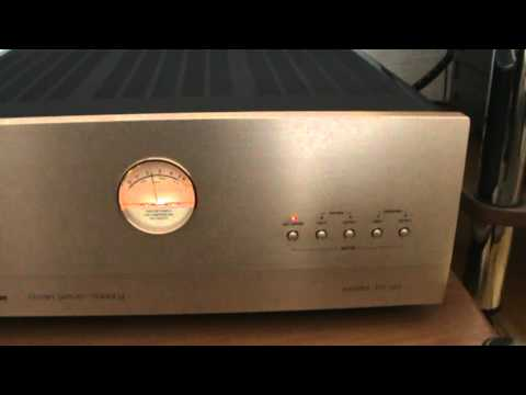 Accuphase With B Amp W Youtube