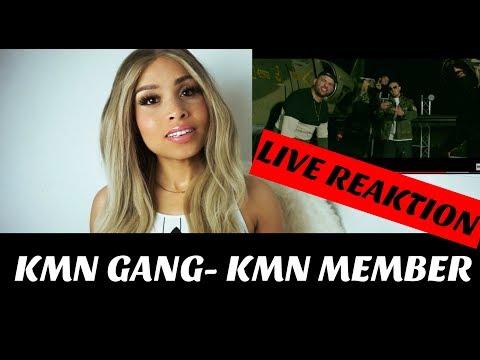 KMN GANG- KMN MEMBER (prod. LUCRY x ABOOM) live Reaktion