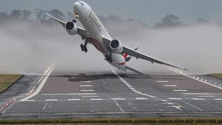Scary Plane Crosswind Landings Compilation