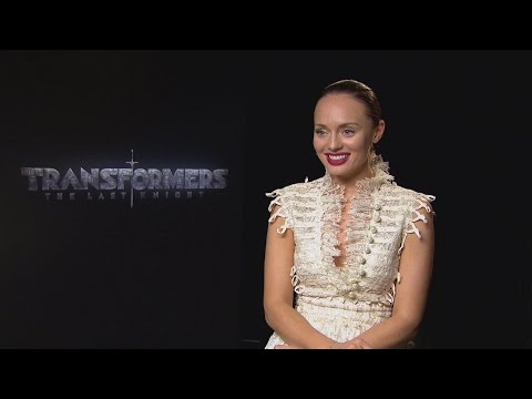 Transformers: Laura Haddock can't wait to  her son!