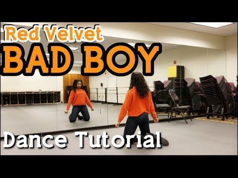 Red Velvet 레드벨벳 'Bad Boy' - DANCE TUTORIAL