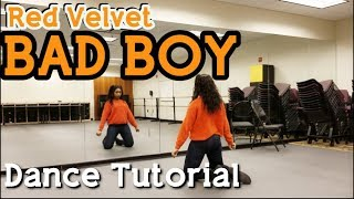 Download Video Red Velvet 레드벨벳 'Bad Boy' - DANCE TUTORIAL (Prechorus and Chorus) MP3 3GP MP4