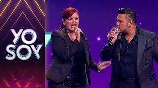 Rosario y Mauricio cantaron