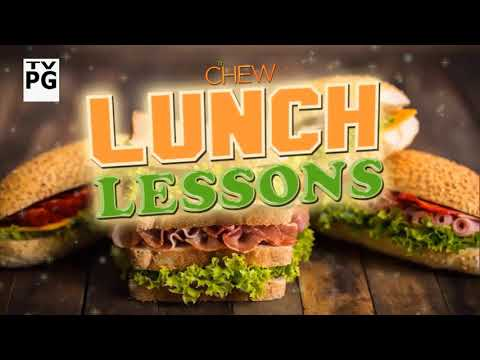 The Chew - Monday, September 18 - S7.E10 Lunch Lessons