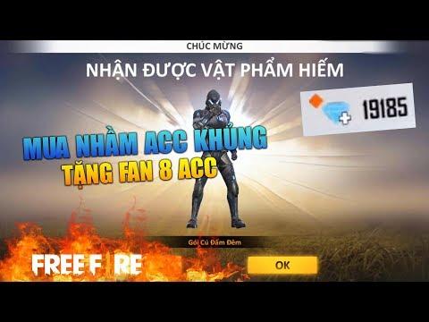 [Garena Free Fire] 50K Mua Nhầm ACC Khủng Tặng FAN | Sỹ Kẹo