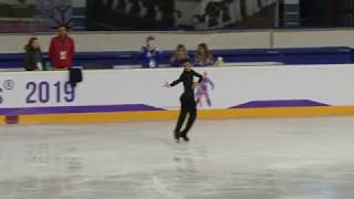 Javier Fernandez, European Championships Figureskating 2019, practice SP
