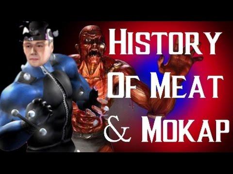 History Of Meat And Mokap Mortal Kombat X