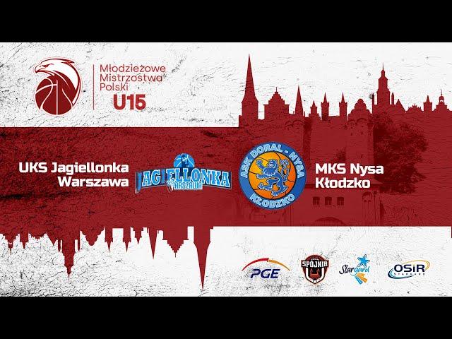 UKS Jagiellonka Warszawa - MKS Nysa Kłodzko