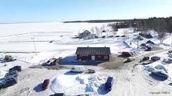 Ice fishing Lumijoki Varjakka 19.3.2017