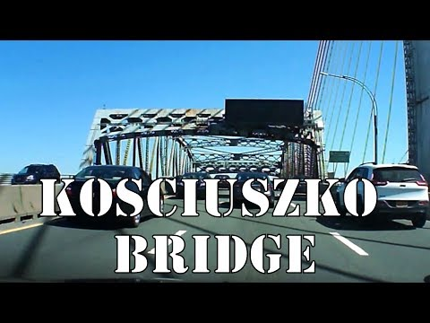 Driving Over The (Now Old) Kosciuszko Bridge