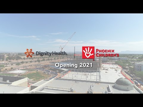 Dignity Health And Phoenix Children's Women's And Children's Pavilion - Topping Out