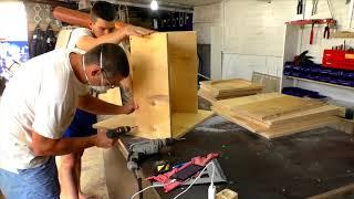 Рупор и закрытый ящик под 15 профессиональный сабвуфер Horn and closed box for 15 professional subwo
