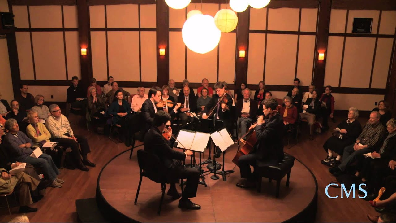 Purcell - Chacony in G minor - Escher String Quartet - CMS