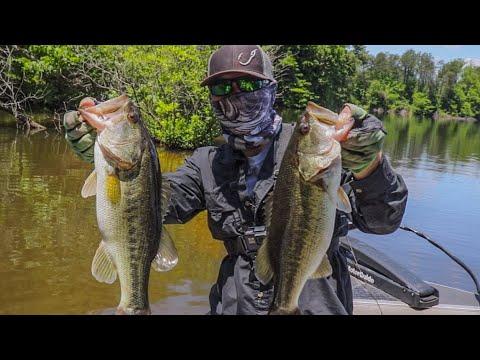 Late Spring Bass Fishing   Reidsville Lake, NC