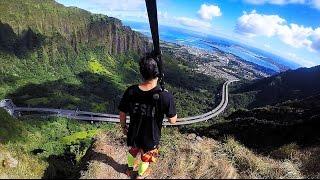 Moanalua Saddle Hike, Oahu, Hawaii (GoPro 4 Silver)