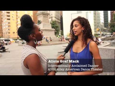 Alicia Graf Mack (Alvin Ailey American Dance Theatre) & Daisha Graf On Inside NYC Dance