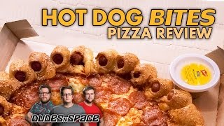 Hot Dog Bites Pizza Hut Pizza Review - Worst Pizza Ever? - Dudes N Space