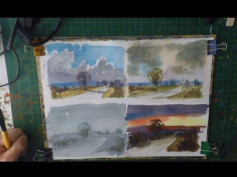 Four Sky's Watercolour Tutorial