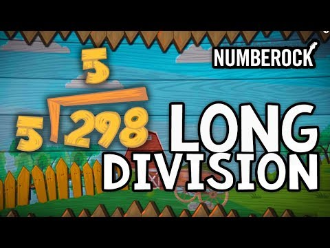 The Long Division Song: Online Education Songs For Kids