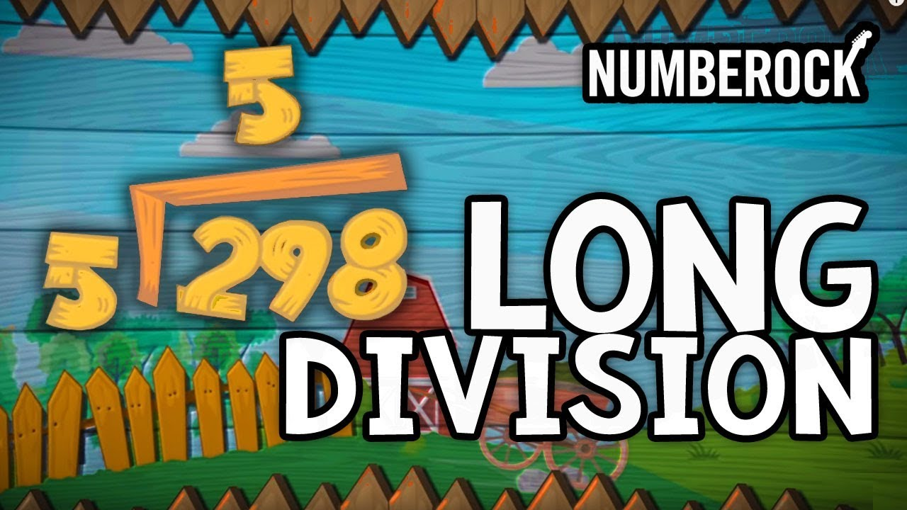 hight resolution of Long Division Song   1-DIgit Divisors   3rd Grade \u0026 4th Grade - YouTube