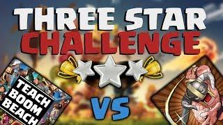 Clash of Clans 3 Star Challenge! Head 2 Head Battle!