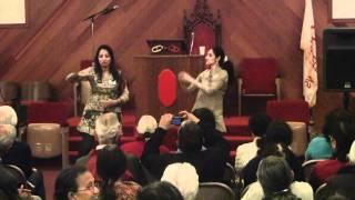 Anandi and Seema dance to Chammak Challon (Rishi M.I.A)